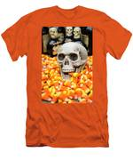Halloween Candy Corn Men's T-Shirt (Athletic Fit)
