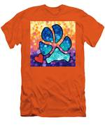 Puppy Love - Colorful Dog Paw Art By Sharon Cummings Men's T-Shirt (Athletic Fit)