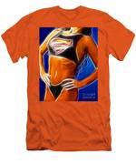 Superman 1 Fractal Men's T-Shirt (Athletic Fit)
