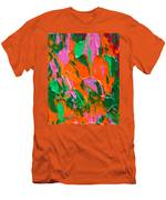 Tangerine And Lime Men's T-Shirt (Athletic Fit)