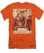 John Brown: Execution Men's T-Shirt (Athletic Fit)