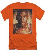 Michael Jordan Card Mosaic 1 Men's T-Shirt (Athletic Fit)