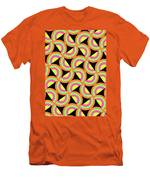 Psychedelic Squares Men's T-Shirt (Athletic Fit)