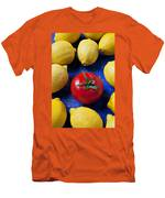 Single Tomato With Lemons Men's T-Shirt (Athletic Fit)