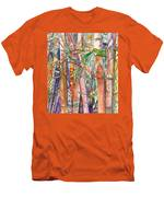 Autumn Bamboo Men's T-Shirt (Athletic Fit)