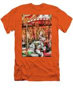 Carnival - The Carousel - Painted Men's T-Shirt (Athletic Fit)