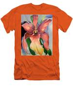 Catalya Orchid Men's T-Shirt (Athletic Fit)
