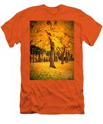 Dreamy Autumn Day Men's T-Shirt (Athletic Fit)