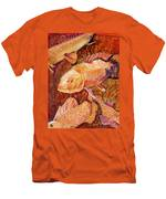 Golden Koi Men's T-Shirt (Athletic Fit)