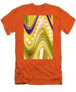 Moveonart Wave Of Enlightenment Four Men's T-Shirt (Athletic Fit)