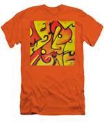 Pucker Up Men's T-Shirt (Athletic Fit)