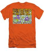 Seduced By The Meadow Men's T-Shirt (Athletic Fit)