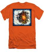 Supernova In Harlequin Men's T-Shirt (Athletic Fit)