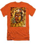 The Golden Goddess Men's T-Shirt (Athletic Fit)
