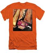 The Red Boot Men's T-Shirt (Athletic Fit)