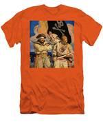 Wyeth: Treasure Island Men's T-Shirt (Athletic Fit)