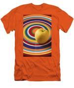 Yellow Apple  Men's T-Shirt (Athletic Fit)