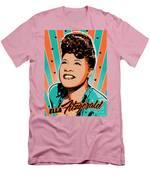 Ella Fitzgerald Pop Art Men's T-Shirt (Athletic Fit)