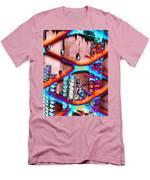 Construction Pit Men's T-Shirt (Athletic Fit)