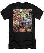 The Seven Holy Ushpizin Men's T-Shirt (Athletic Fit)