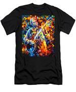 Bb King  Long Nights Men's T-Shirt (Athletic Fit)