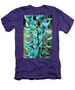 Blue Jade Plant  Hawaii, United States Men's T-Shirt (Athletic Fit)