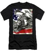 Courtesy Of The Red White And Blue Men's T-Shirt (Athletic Fit)