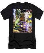 Cow Tipping Men's T-Shirt (Athletic Fit)