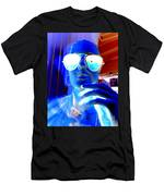 Feelin Blue Men's T-Shirt (Athletic Fit)