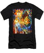 Lights In The Night Men's T-Shirt (Athletic Fit)