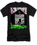 Log Cabin Home Men's T-Shirt (Athletic Fit)