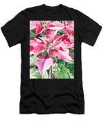 Poinsettia Men's T-Shirt (Athletic Fit)