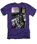 Slot Machines At An Airport, Mccarran Men's T-Shirt (Athletic Fit)
