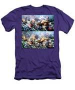Something Fowl Afloat Redux Men's T-Shirt (Athletic Fit)