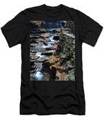 Two Kinds Of Steps Men's T-Shirt (Athletic Fit)