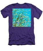 Underwater Life Men's T-Shirt (Athletic Fit)