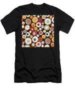 Veneto Boho Spot Chocolate Men's T-Shirt (Athletic Fit)