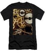 Watch Mechanism. Close-up Men's T-Shirt (Athletic Fit)