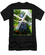Windmill At Hofstra Men's T-Shirt (Athletic Fit)