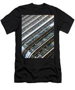 Canary Wharf London Abstract Men's T-Shirt (Athletic Fit)