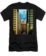Down To The Bay Men's T-Shirt (Athletic Fit)