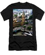 From The Eye Big Ben Men's T-Shirt (Athletic Fit)