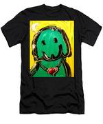 Green Dog Men's T-Shirt (Athletic Fit)