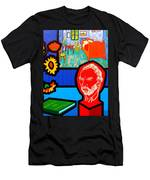 Homage To Vincent Van Gogh Men's T-Shirt (Athletic Fit)