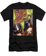 Stars Stripes And Exposure Men's T-Shirt (Athletic Fit)