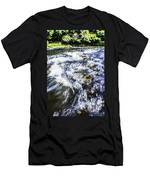 The Stream In Mountain Men's T-Shirt (Athletic Fit)