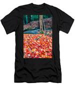 Chesterfield Gorge New Hampshire Men's T-Shirt (Athletic Fit)