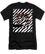 3 Squares With Ripples Men's T-Shirt (Athletic Fit)