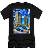 Canary Wharf London Men's T-Shirt (Athletic Fit)