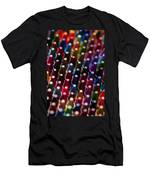 Rows Of Multicolored Crayons  Men's T-Shirt (Athletic Fit)